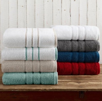 American made household goods we love: 1888 Mills American Craft Towels #usalovelisted #towels #homegoods