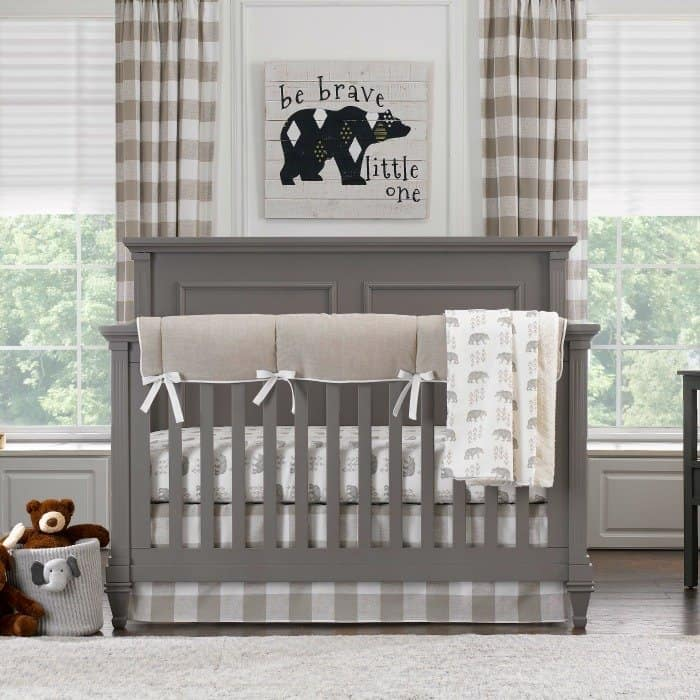 Liz and Roo Luxury baby bedding #usalovelisted #baby