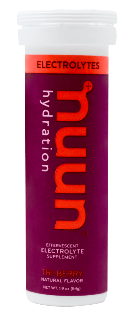 Plant Based, Vegan, Low-Carb Electrolyte Tabs from nuun hydration