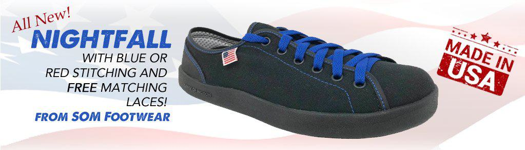 d13254cf3b6 SOM Footwear USA Made Sneakers - Minimalist Design - Made in Colorado