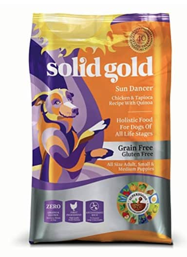 Natural Pet Food Made in USA: Solid Gold wet and dry pet food for dogs and cats #holistic #natural #usalovelisted