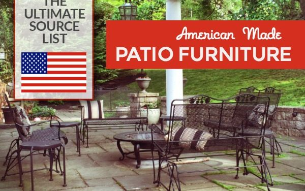American Made Patio Furniture: A Source Guide