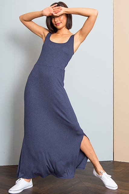 Made in USA gifts for the fashionista: LA Relaxed COAST Maxi Dress