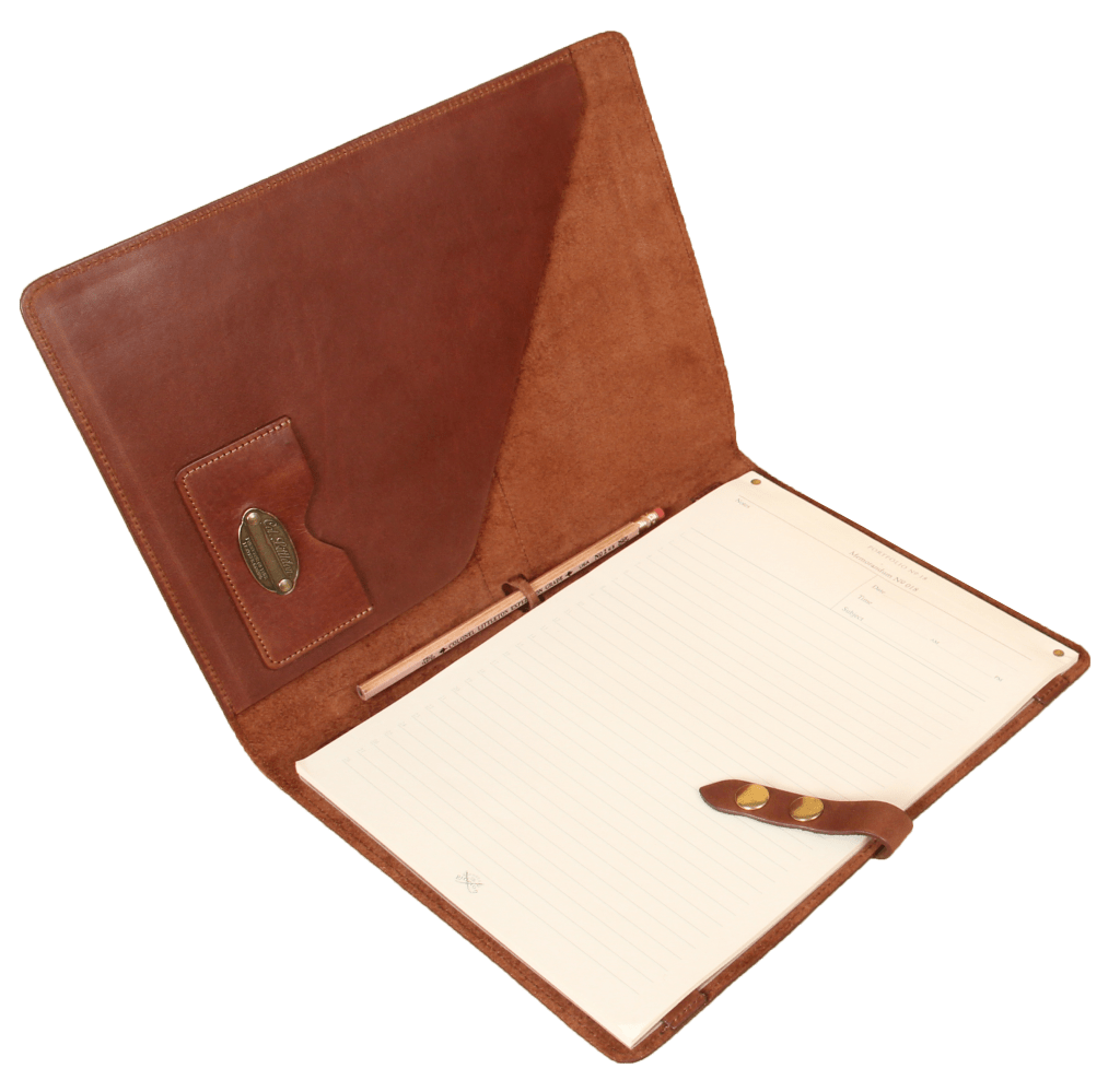 American Made Leather Portfolio from Col. Littleton - Men's Luxury Gift Guide