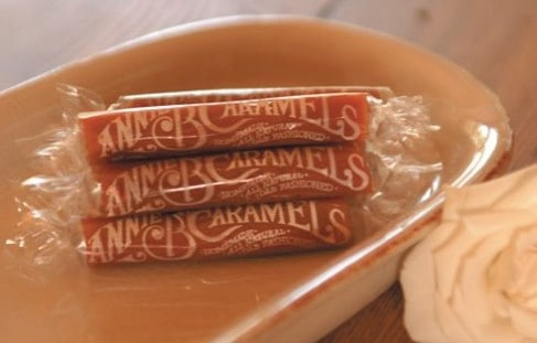 Candy made in USA: Annie B's caramels #usalovelisted #candy