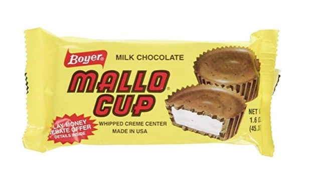 Candy made in USA: Mallo Cup #usalovelisted #candy