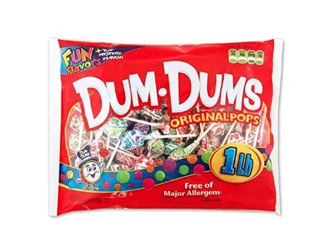Candy made in USA: Dum Dums pops made in Ohio #usalovelsited #candy