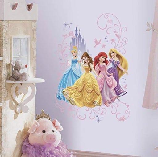 Princess Gifts: RoomMates wall decals #madeinUSA #usalovelisted #princess