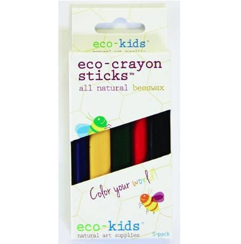Gifts Under $30: Eco Kids crayons at Anytown USA #madeinUSA #gifts #kids #toddlers #usalovelisted