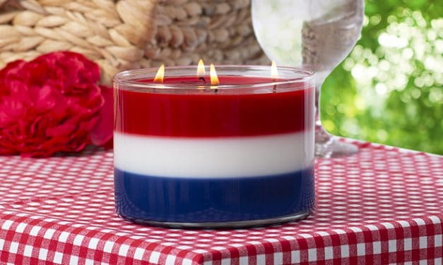 David Oreck Candle Co. Scented Patriotic Candle Giveaway
