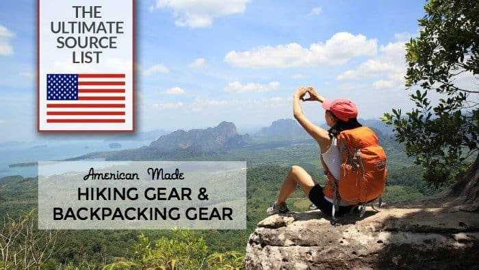 6ff1bdc923b2 Made in USA Hiking Gear & Backpacking Gear: A Source Guide • USA ...