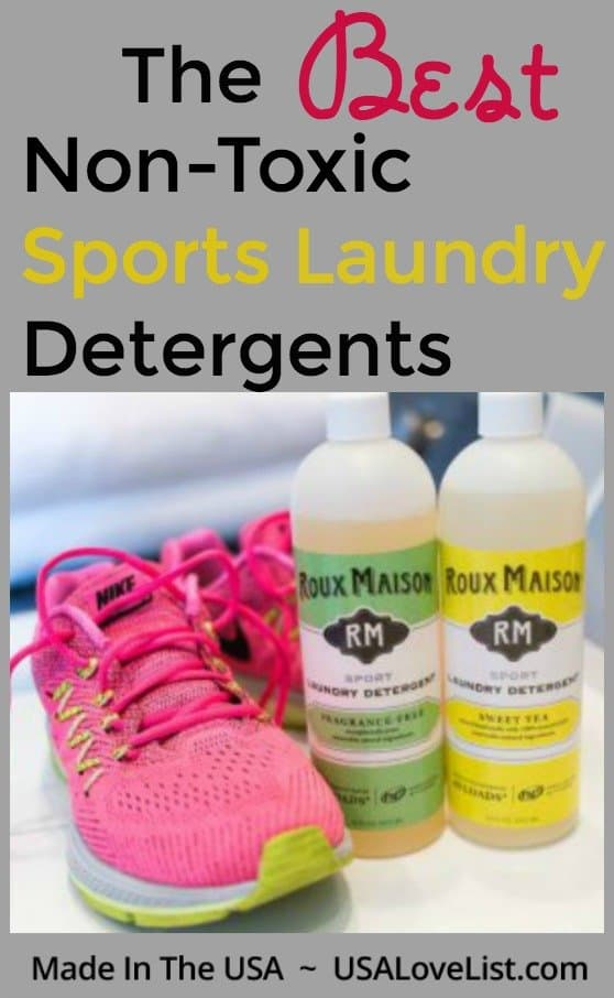 The Best Non-Toxic Sports Laundry Detergents #usalovelisted