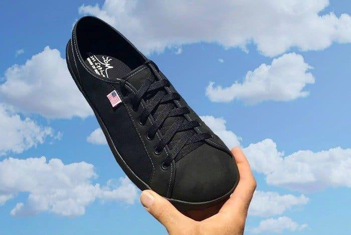 American made minimalist wardrobe: SOM Footwear sneakers