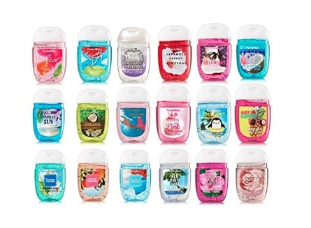 Made in USA Tween and Teen Beauty, Personal Care Products: Bath and Body Works hand sanitizer #usalovelisted #madeinUSA #backtoschool