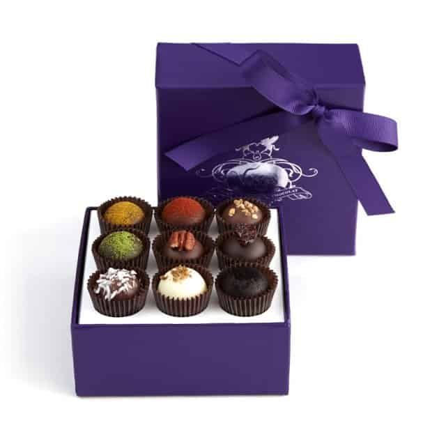 Affordable luxury gifts for women: Vosges Exotic Truffle Collection - American Made Artisan Chocolates - Vosges Women Owned Business #luxury #gifts #usalovelisted