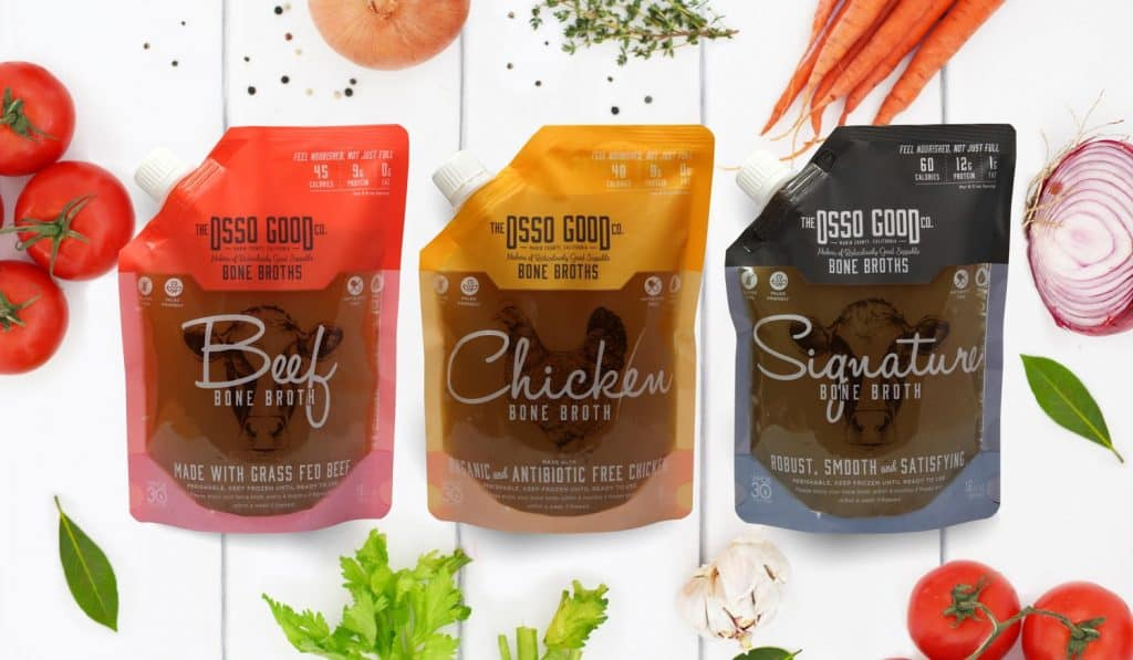 Osso Good Organic, Pasture-Raised and 100% Cage Free Broth - Whole30 Approved Bone Broth - $10 off Osso Good with discount code USALOVE #whole30compliant #whole30broth #whole30bonebroth #glutenfreebroth