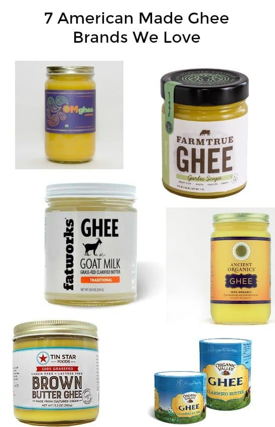 7 American Made Ghee Brands We Love - Great for Keto, LCHF, Paleo and Whole30 Diets