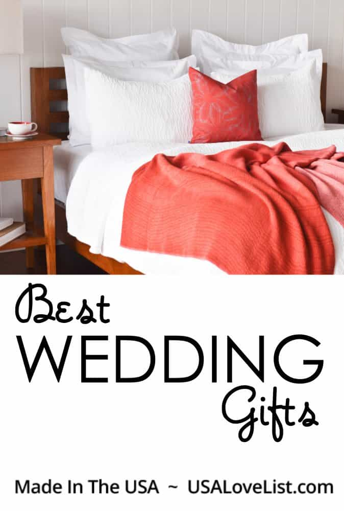 Best Wedding Gifts made in USA #madeinUSA #usalovelisted #wedding