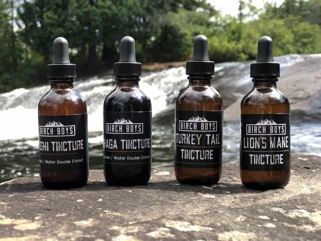 Medicinal Mushroom Products: Birch Boys Mushroom Tinctures #usalovelsited #medicinal #mushrooms