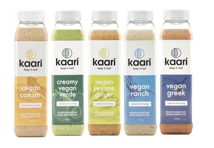 Kaari Foods Vegan, Dairy-Free Dressing - Vegan Ceasar and Vegan Ranch Dressing #madeinusa #vegan #salad #fitfam