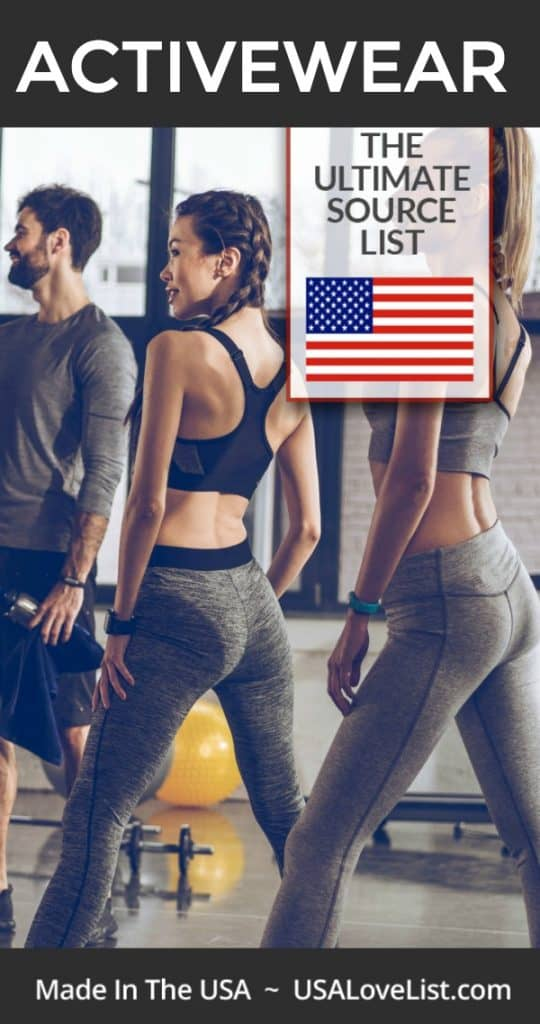 Activewear made in USA for men, women, and kids #usalovelisted #activewear #fitness #crossfit #running #yoga #crosstrain