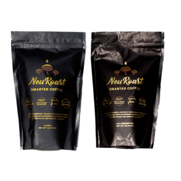 Medicinal Mushroom Products: NeuRoast - Medicinal Mushroom Coffee - Instant Coffee #madeinUSA #USAlovelisted #medicinal #mushrooms