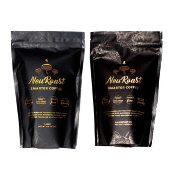 Medicinal Mushroom Products: NeuRoast - Medicinal Mushroom Coffee - Instant Coffee #madeinUSA #USAlovelisted #medicinal #mushrooms