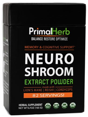 Medicinal Mushroom Products: Primal Herb NeuroShroom - Medicinal Mushroom Coffee Blend For Memory and Cognitive Support #usalovelisted #mushrooms #medicinal