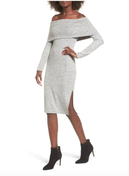 Made in USA Sweaters: Sweater dress at Nordstrom