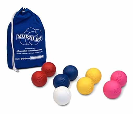 American made Outdoor toys and games: Murbles yard game