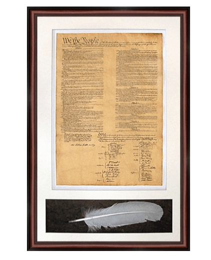 Constitution Day, September 17: High Quality Replica of the US Constitution #usalovelisted #ConstitutionDay #USConsitution