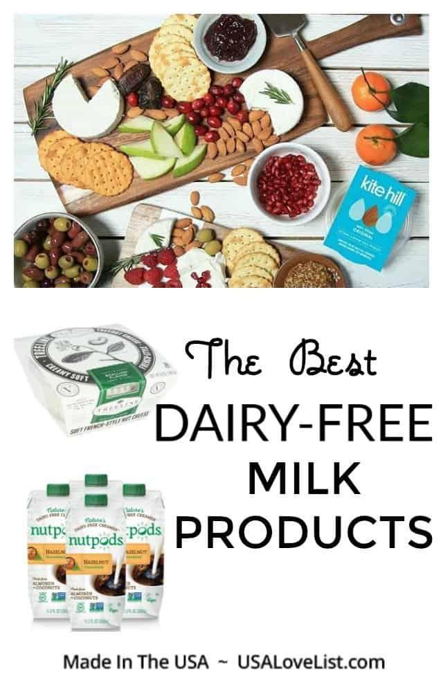 The Best Dairy-Free Milk Products #usalovelisted #nondairy #dairyfree #vegan #glutenfree