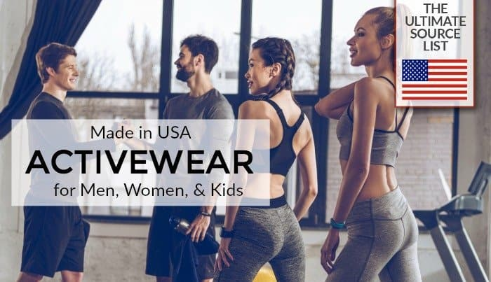 Made in USA Activewear via USA Lovelist
