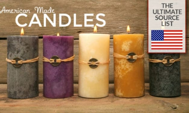 American Made Candles: The Ultimate Source List
