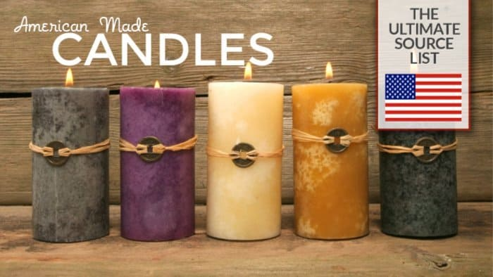 American Made Candles: The Ultimate Source List • USA Love List