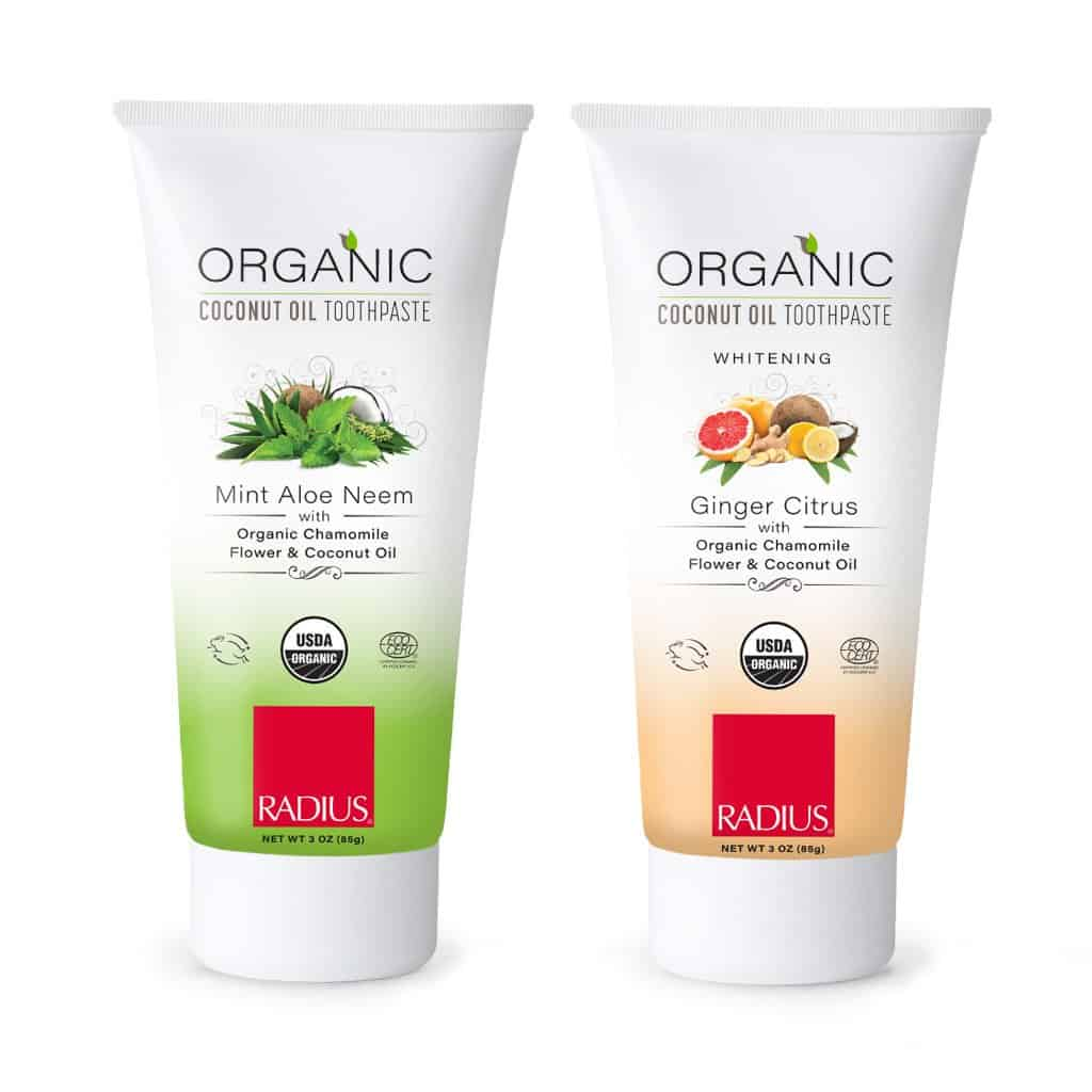 American Made Vegan, Organic Toothpaste from Radius