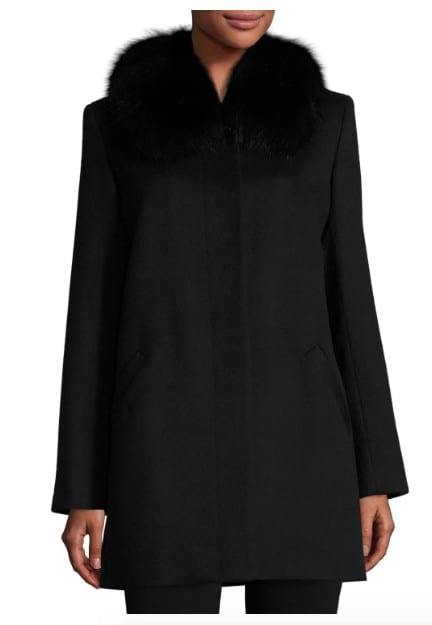 American made women's outerwear: Sofia Cashmere coats and jackets #usalovelisted #madeinUSA #winter #fashion
