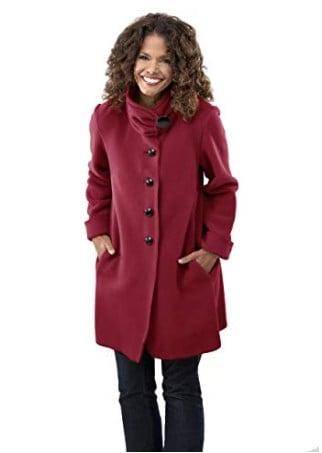 American made women's outerwear: Janska fleece jackets #usalovelisted #madeinUSA #winter #fashion