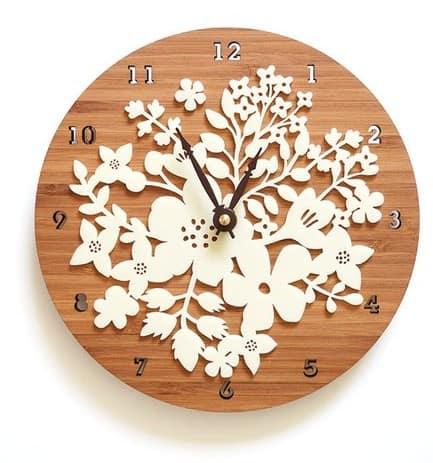 Made in USA Clocks: Decoy Lab wall clocks #usalovelisted #homedecor #clocks