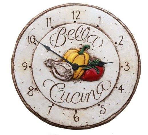 Made in USA Clocks: Piazza Pisano handmade wall clocks #homedecor #usalovelisted