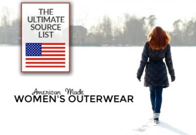 Stay Cozy, Stay Stylish: Our Source List for American Made Women's Outerwear