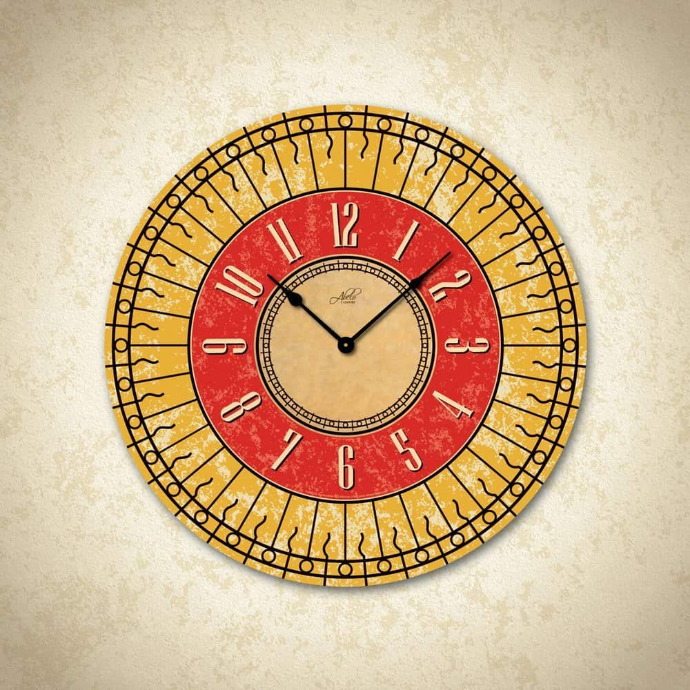 Made in USA Clocks: Abelo Clock #madeinUSA #homedecor #clocks #usalovelisted