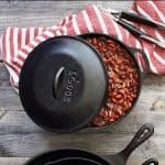 Cast Iron Cooking: Try This Meaty Dutch Oven Chili Recipe