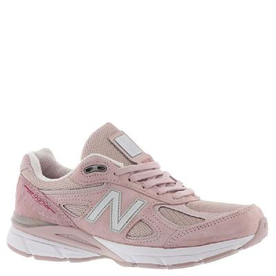 USA Made New Balance Sneakers - Womens 990v4 Made in US Pink Ribbon