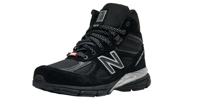 best sneakers b523f d76c3 American Made Men s Sneakers - New Balance Black Panther 990 V4