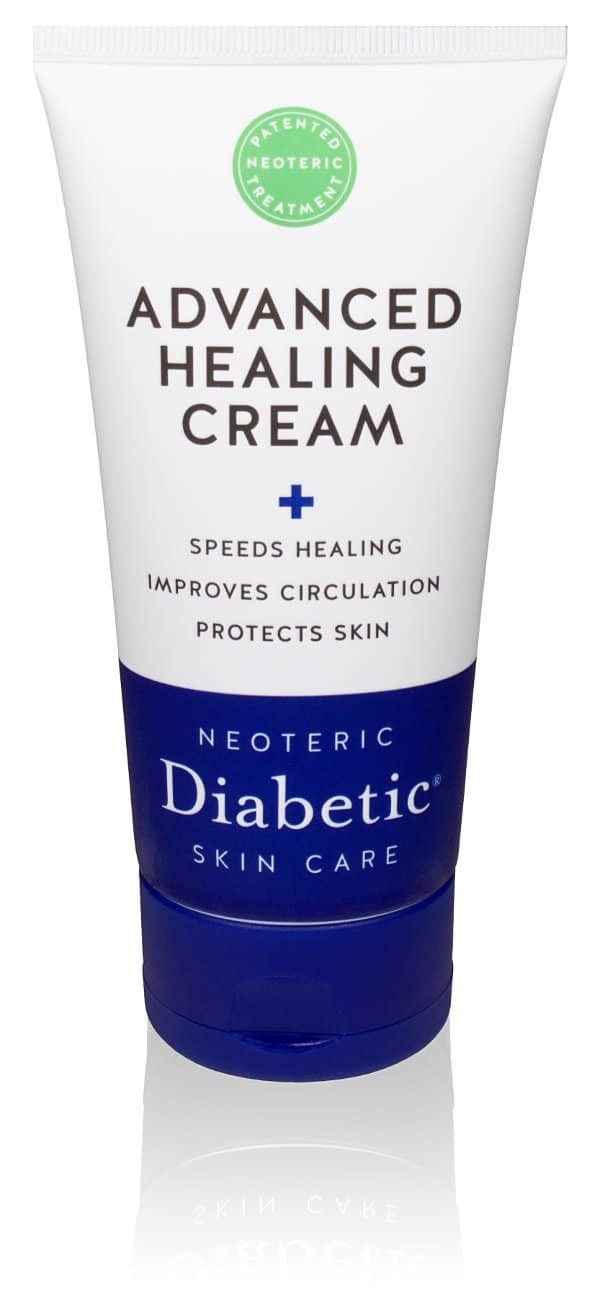 Diabetic skin care: Neoteric Diabetic skin care Advanced Healing Cream #usalovelisted #diabetes #wdd2018