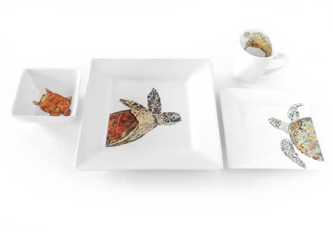 AnytownUSA Made in USA Gifts: Turtle dishware made in Florida #usalovelisted #turtles #Florida #gifts #madeinUSA #anytownUSA
