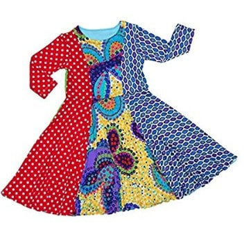 Holiday Clothing for Kids: TwirlyGirl dresses #usalovelisted #kids #holidayfashion