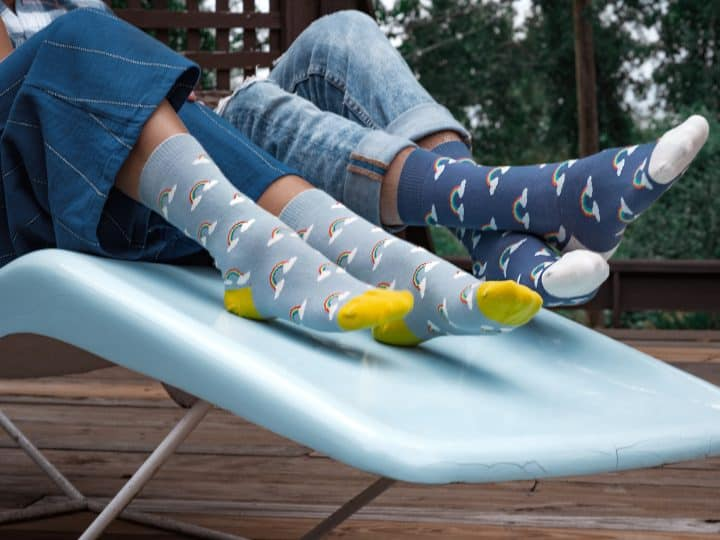 Want, Need, Wear, Read: Zkano socks- something they need and something to wear.