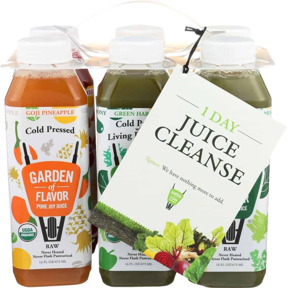 Natural Detox Cleanse: Garden of Flavor Detox Juices and Other Options via USALoveList.com #smallbusiness #womanowned #liverrescue #detox #cleanse #naturalhealth #juicecleanse #usalovelisted